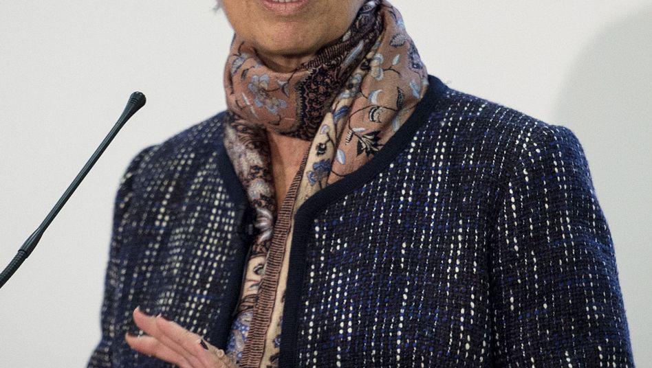 IWF-Direktorin Christine Lagarde: Verfahren in Frankreich droht