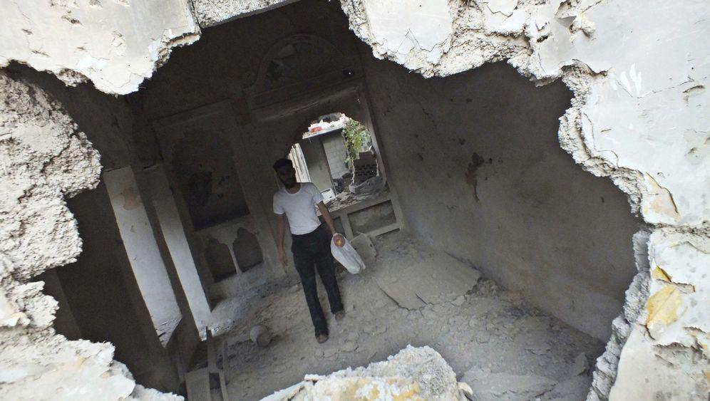 Bürgerkrieg in Syrien: SOS aus den Trümmern von Homs