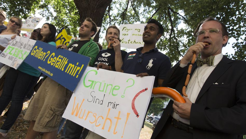 The FDP is worried about a meat ban.