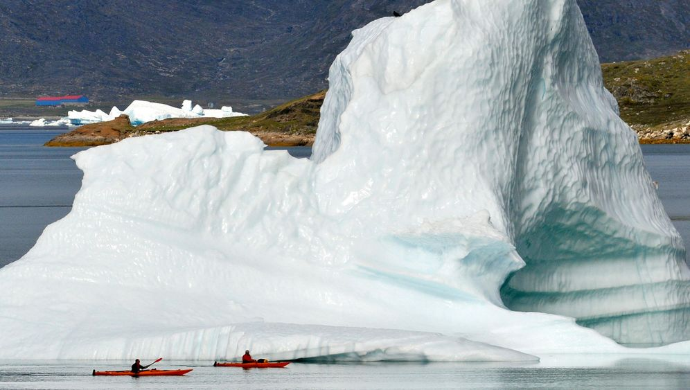 Grönland: Es taut