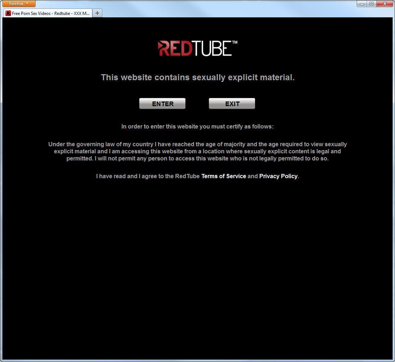 NUR ALS ZITAT Screenshot Massenabmahnungen gegen Pornogucker / Redtube