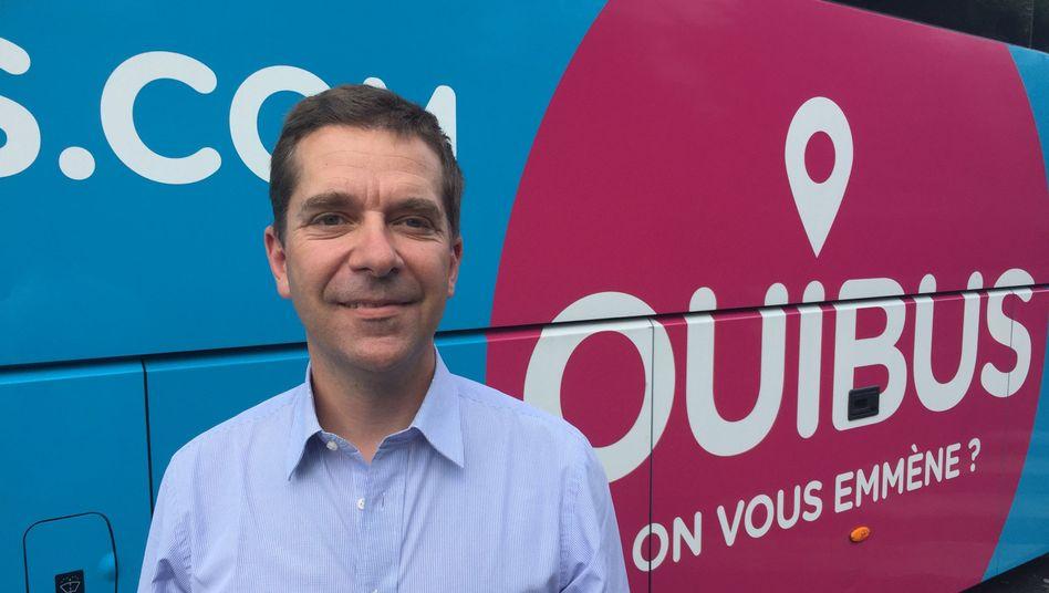 Ouibus-Chef Roland de Barbentane,