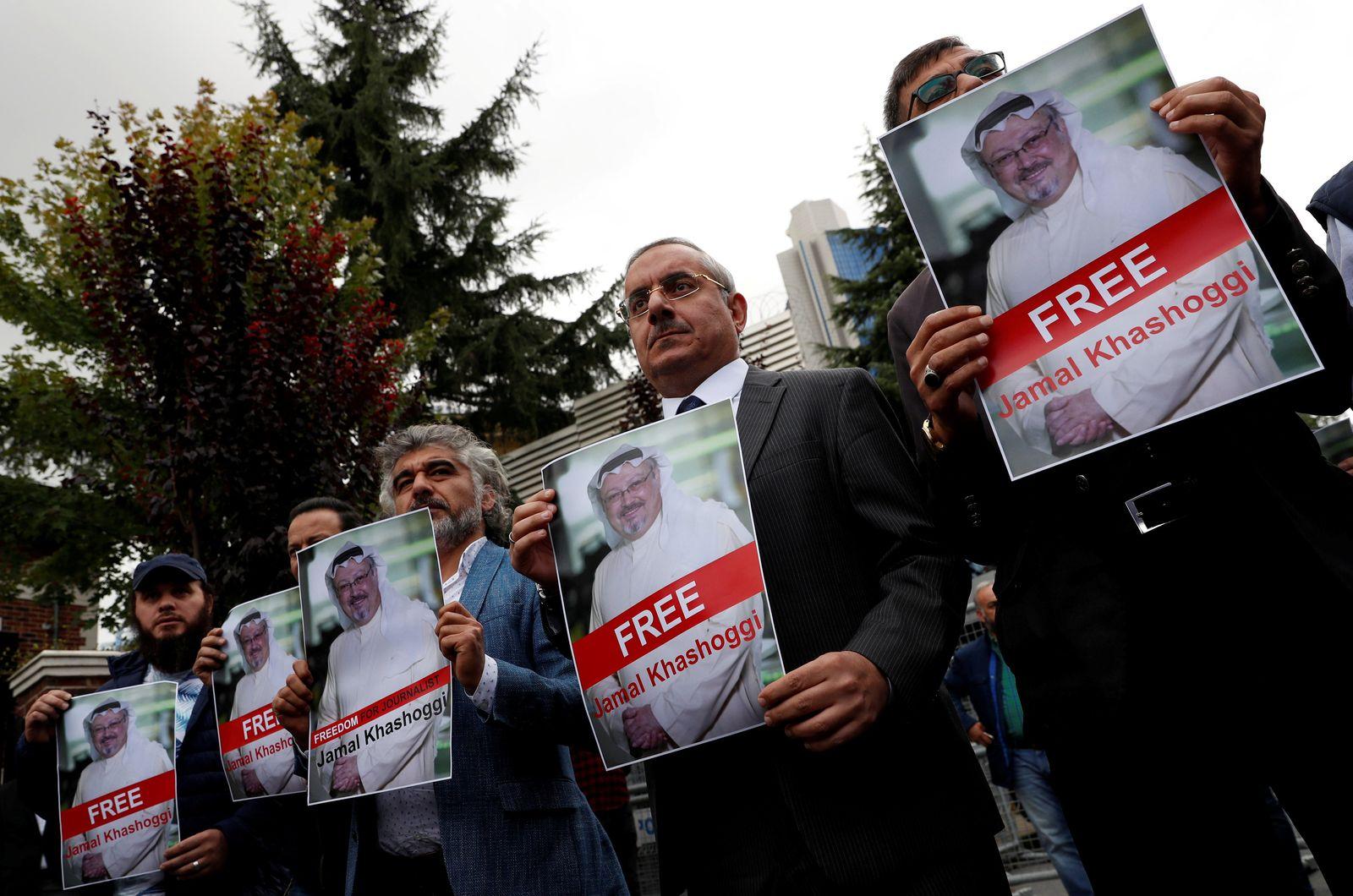 Khashoggi / Protest Istanbul