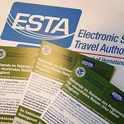 Merkblätter für Esta-Formulare: Ab Montag ist die Online-Registrierung Pflicht