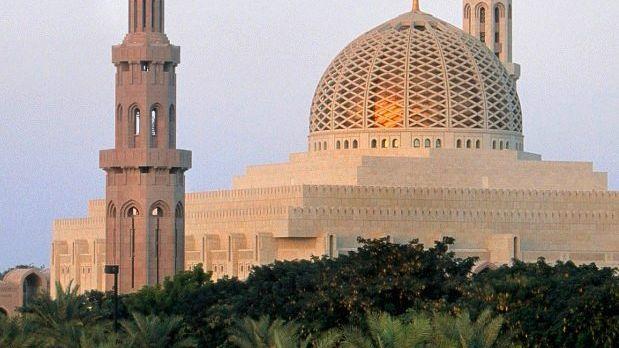 Moschee in Omans Hauptstadt Maskat