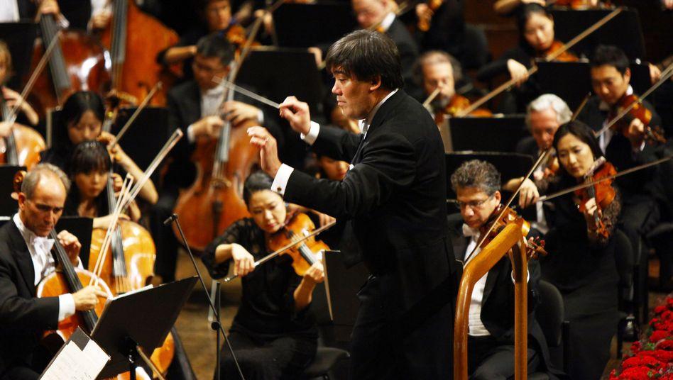 Alan Gilbert, New Yorker Philharmoniker: Marimba-Klingelton stoppt Mahler-Aufführung