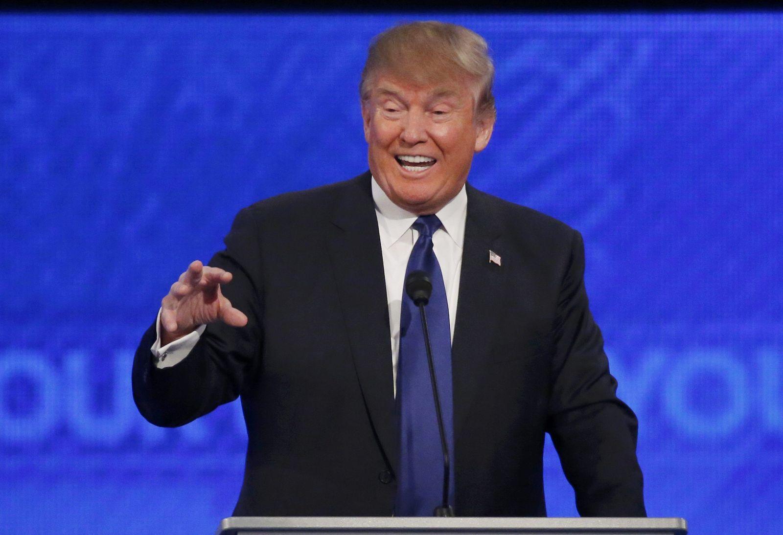Trump TV Debatte
