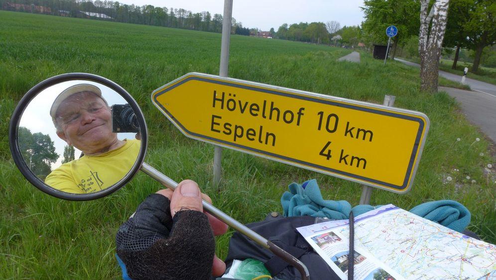 Weltradler mit über 70: 648.000 Kilometer um die Welt
