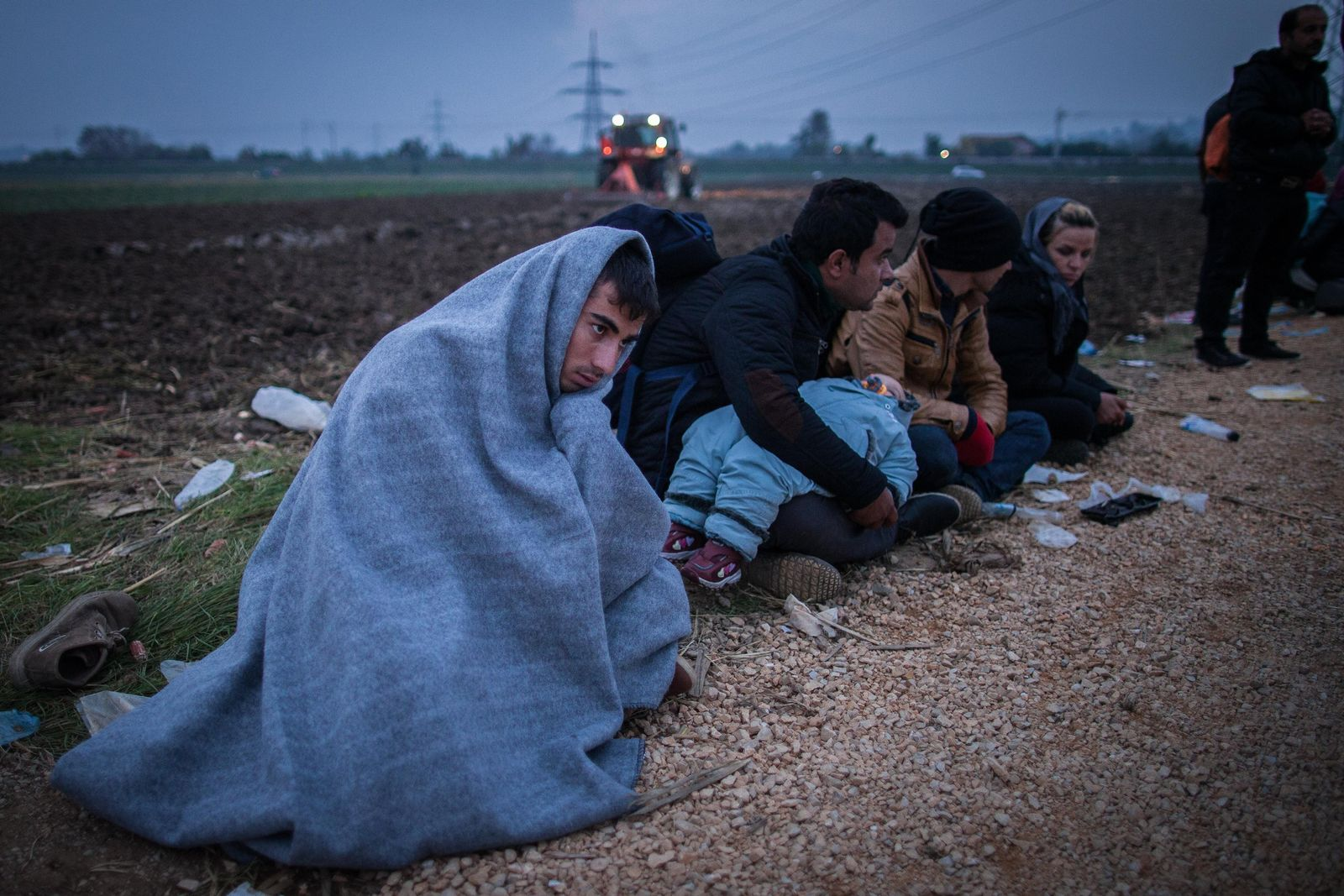 Flüchtlinge/ Winter