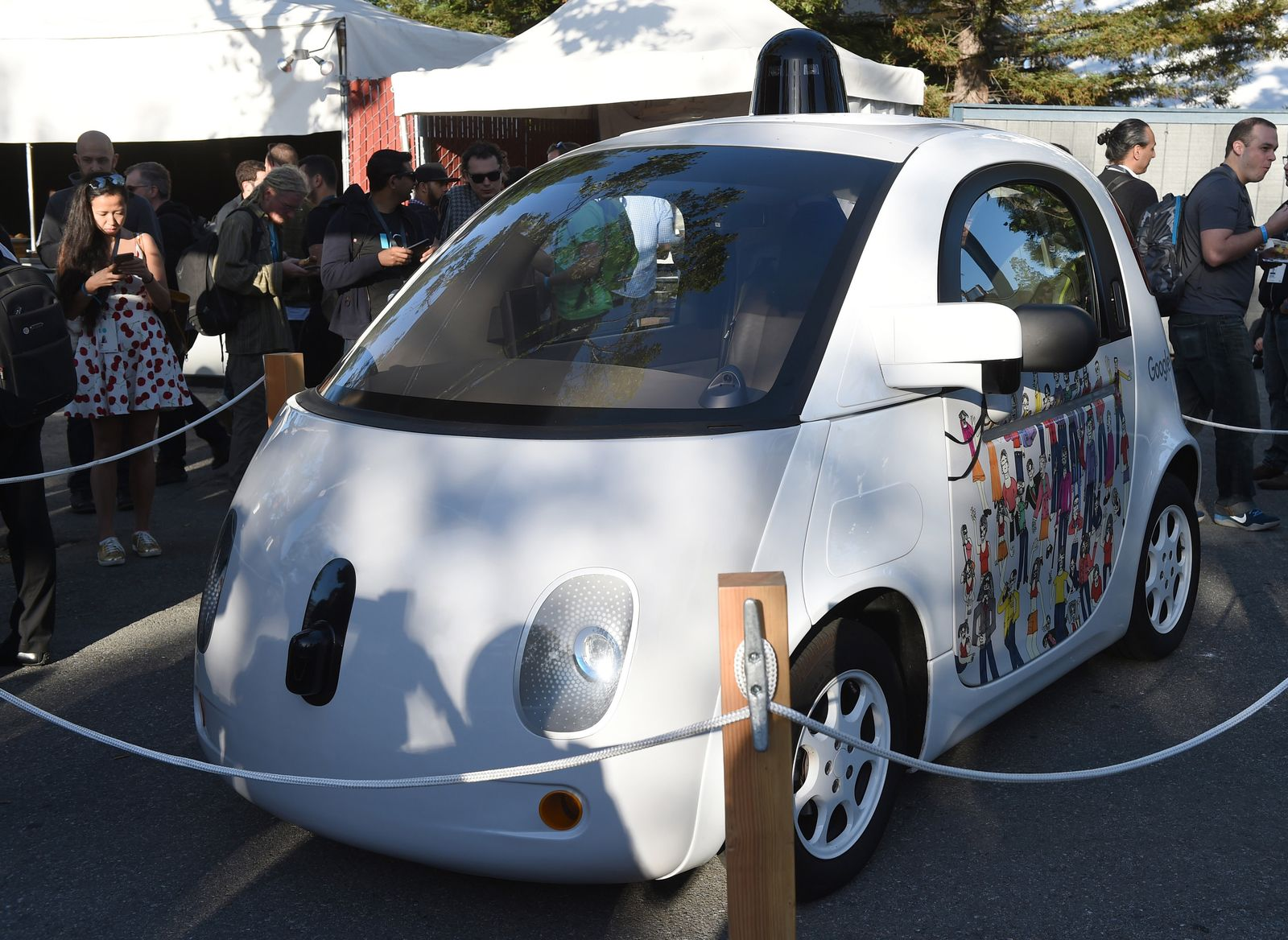 Google I/O / Selbstfahrendes Auto / Entwicklerkonferenz
