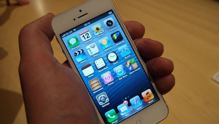 iPhone 5 ausprobiert: Apples Edel-Smartphone im Schnell-Check
