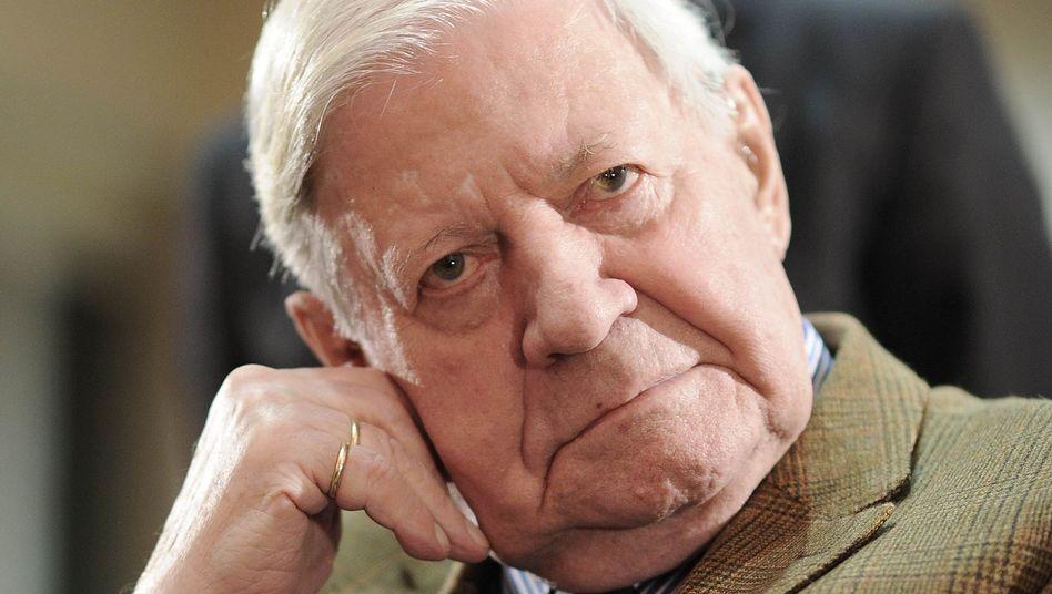 Altkanzler Helmut Schmidt: Mit Euro-Bonds gegen die Krise