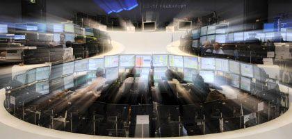 Börse in Frankfurt: Sind die Anleger wirklich mit Blindheit geschlagen?