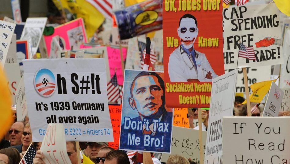 Gegner der US-Gesundheitsreform: Der Druck auf Präsident Obama ist hoch