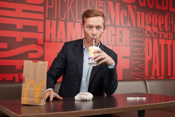 McDonald's-Chef Chris Kempczinski