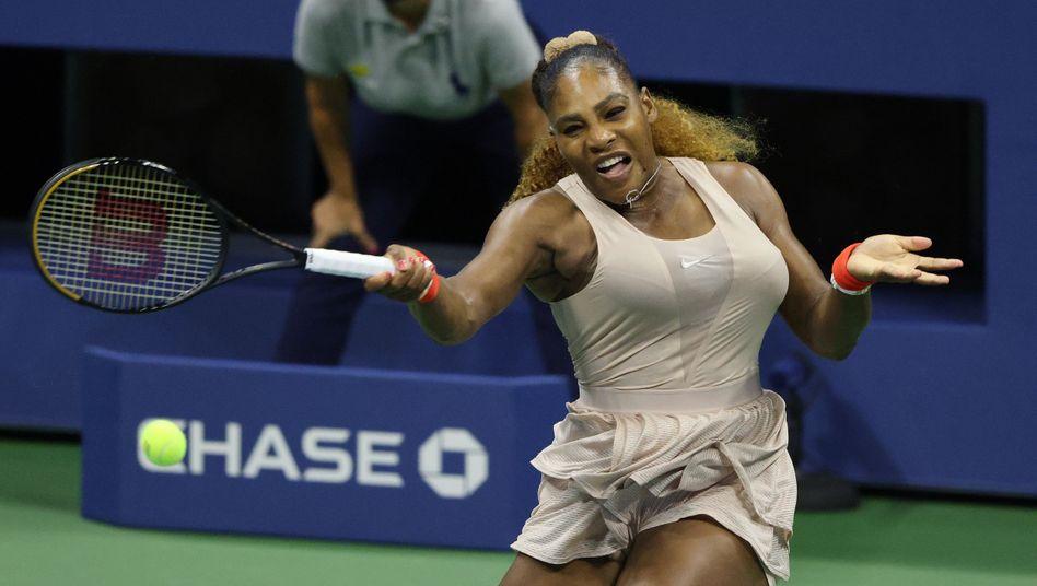 Serena Williams stand nach ihrer Babypause viermal in Major-Finals (2018 und 2019 jeweils Wimbledon und US Open), den 24. Titel konnte sie bislang nicht gewinnen