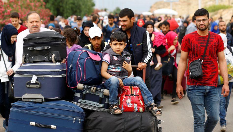 Syrer kehren in Heimatorte zurück