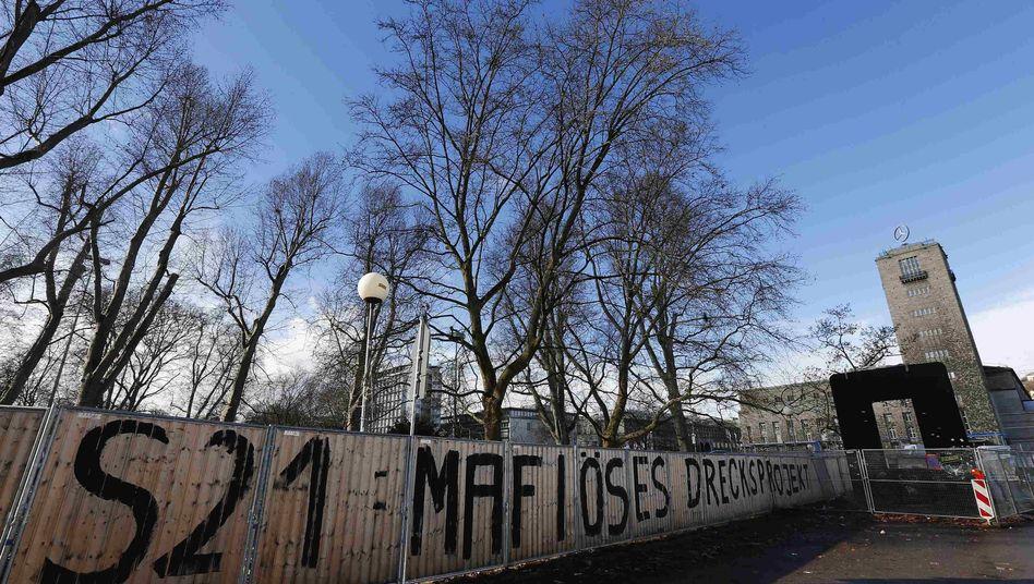 Protest gegen Stuttgart 21: Stimmung gegen das Großprojekt kippt