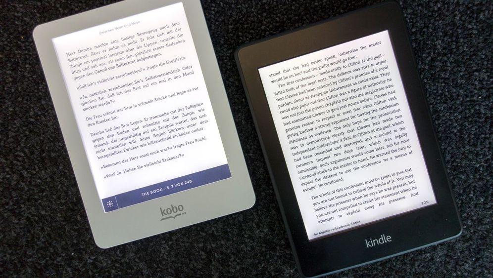 Kobo E-Reader: So sieht der Kindle-Konkurrent aus