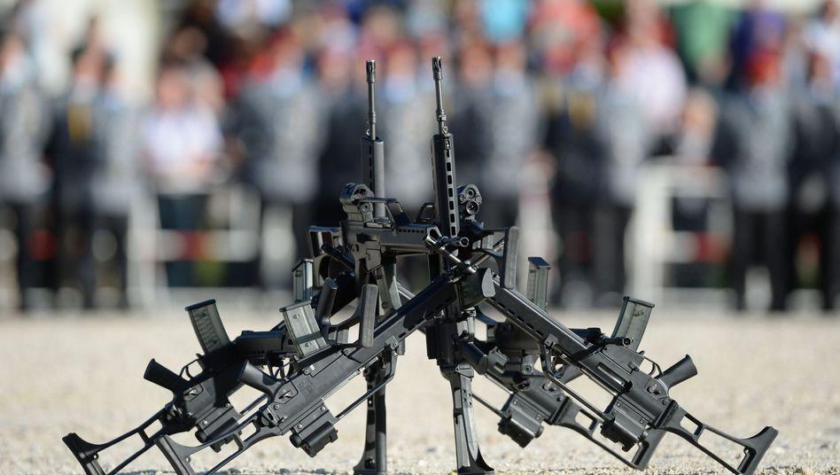 """Gewehre vom Typ G36 von Heckler & Koch: """"Prüfsiegel-Vorwürfe sind grundfalsch"""""""