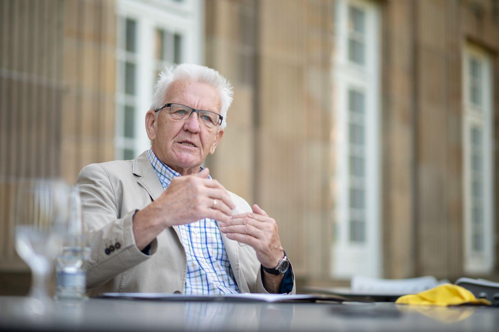 Baden-Württembergs Ministerpräsident Kretschman