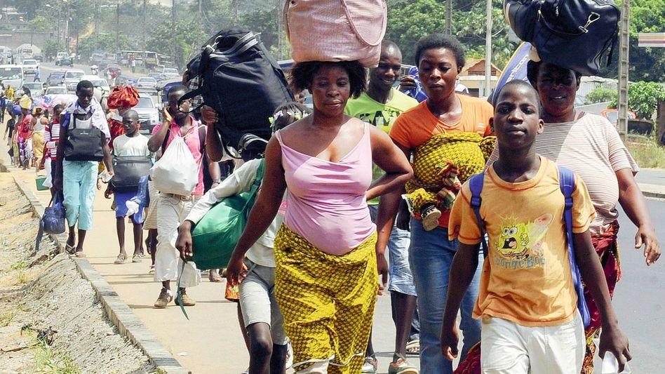 Flüchtlinge in Abobo: »Die Gewalt wächst von Tag zu Tag«