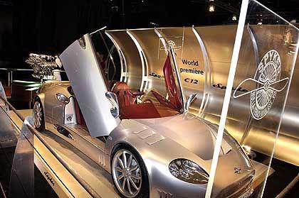 Spyker C12 Spyder: Holländisches Auto mit bayerischem Motor