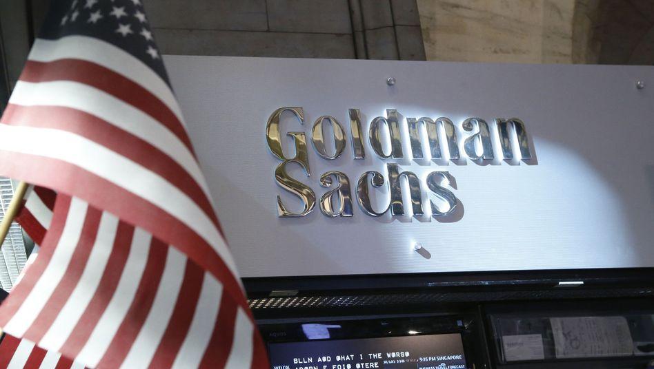 Logo der Investmentbank Goldman Sachs