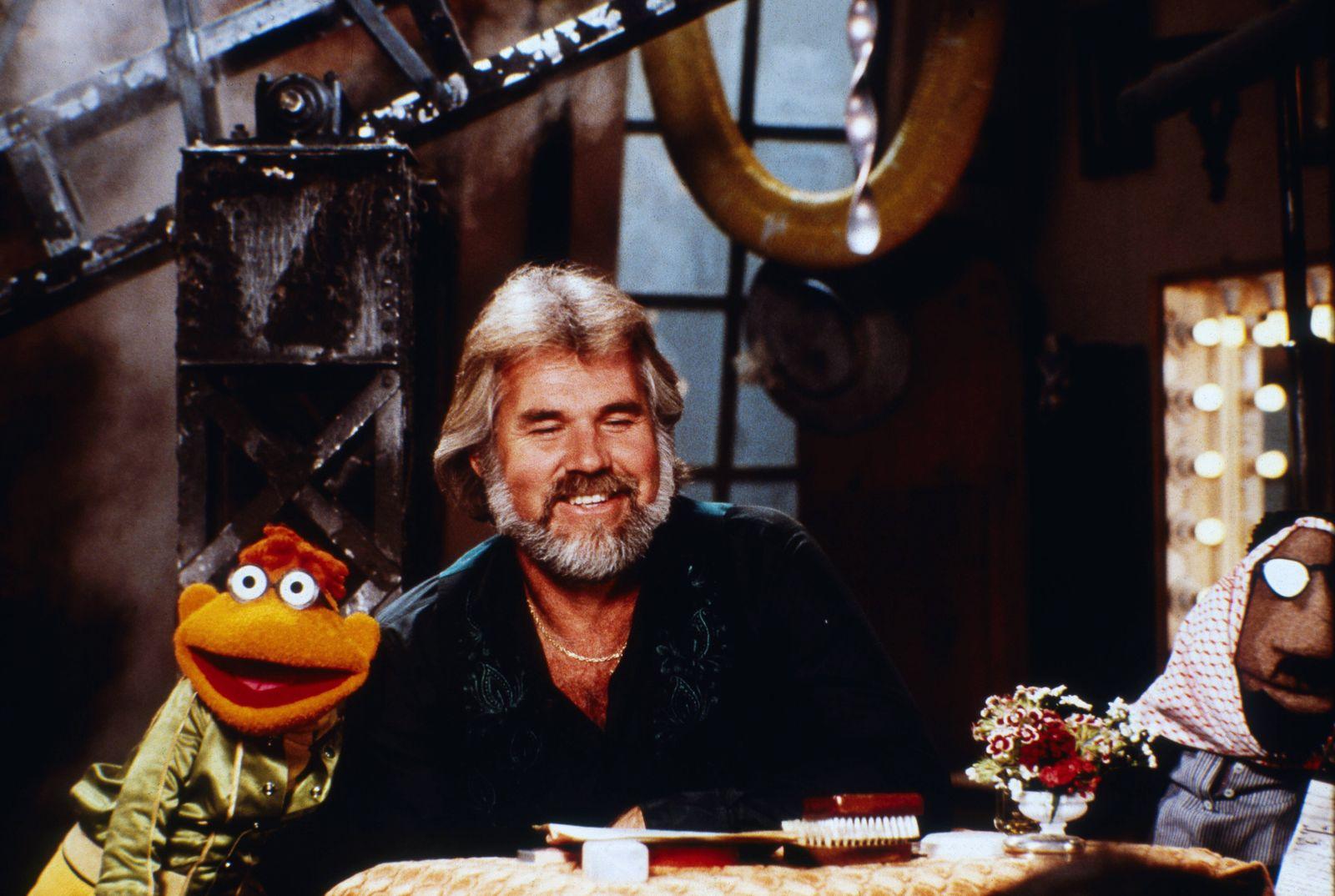 The Muppet Show, Fernsehserie, USA/Großbritannien 1976 - 1981, Comedyshow mit Puppen und Gaststar Kenny Rogers Copyrigh