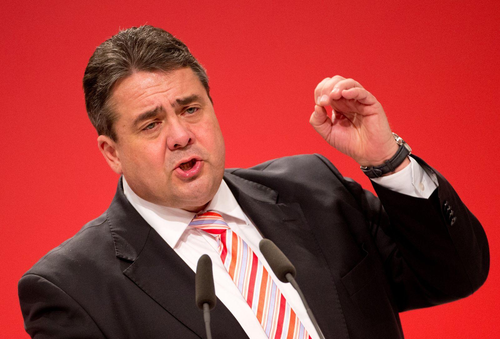 Sigmar Gabriel SPD-Bundesparteitag