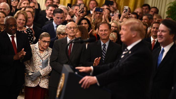 """Reaktionen auf den Tod Ruth Bader Ginsburgs: """"Eine Gigantin der Rechtslehre"""""""