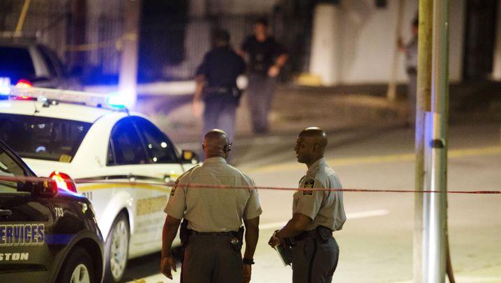 Schüsse in Kirche: Entsetzen in Charleston