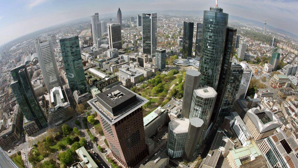 Frankfurter Bankenviertel: EU will Krisenresistenz testen
