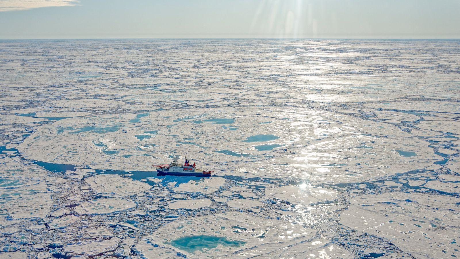 Die Polarstern in der Arktis