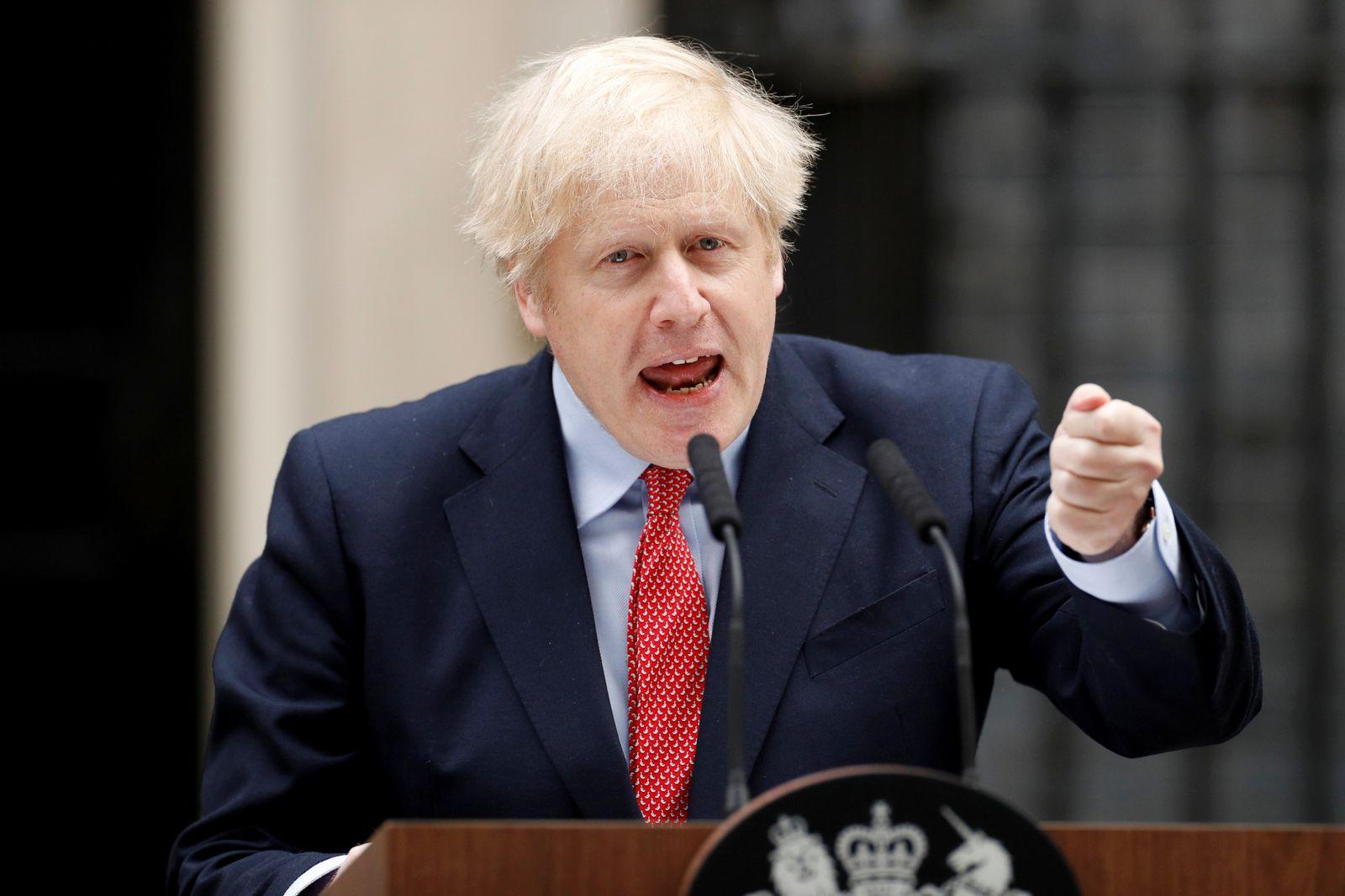 Britain's Prime Minister Boris Johnson to return to work on Monday
