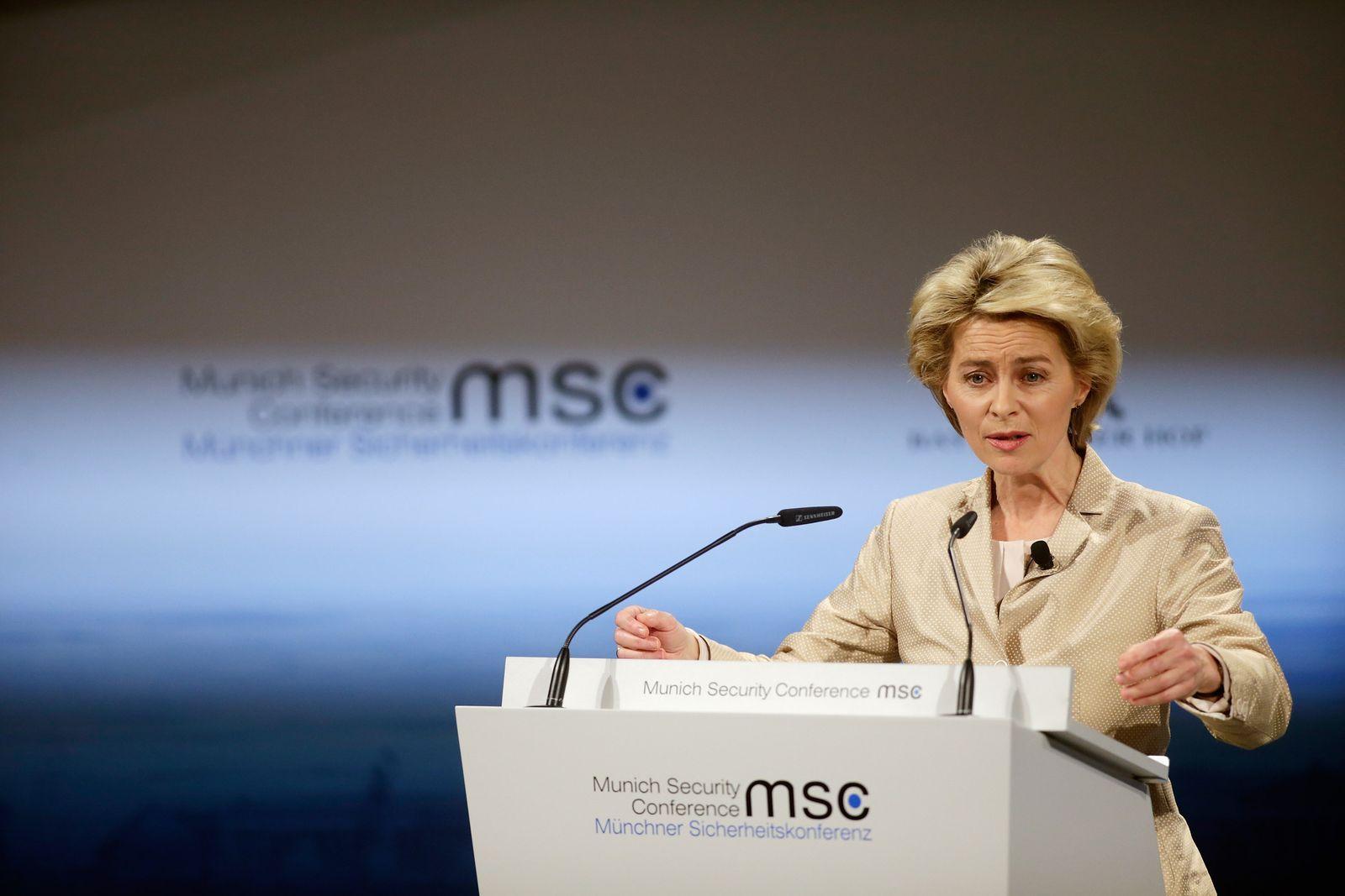von der Leyen / Münchner Sicherheitskonferenz