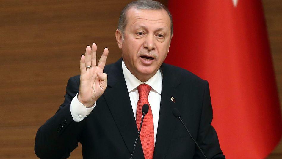 Türkischer Präsident Erdogan: Außengrenzen besser schützen