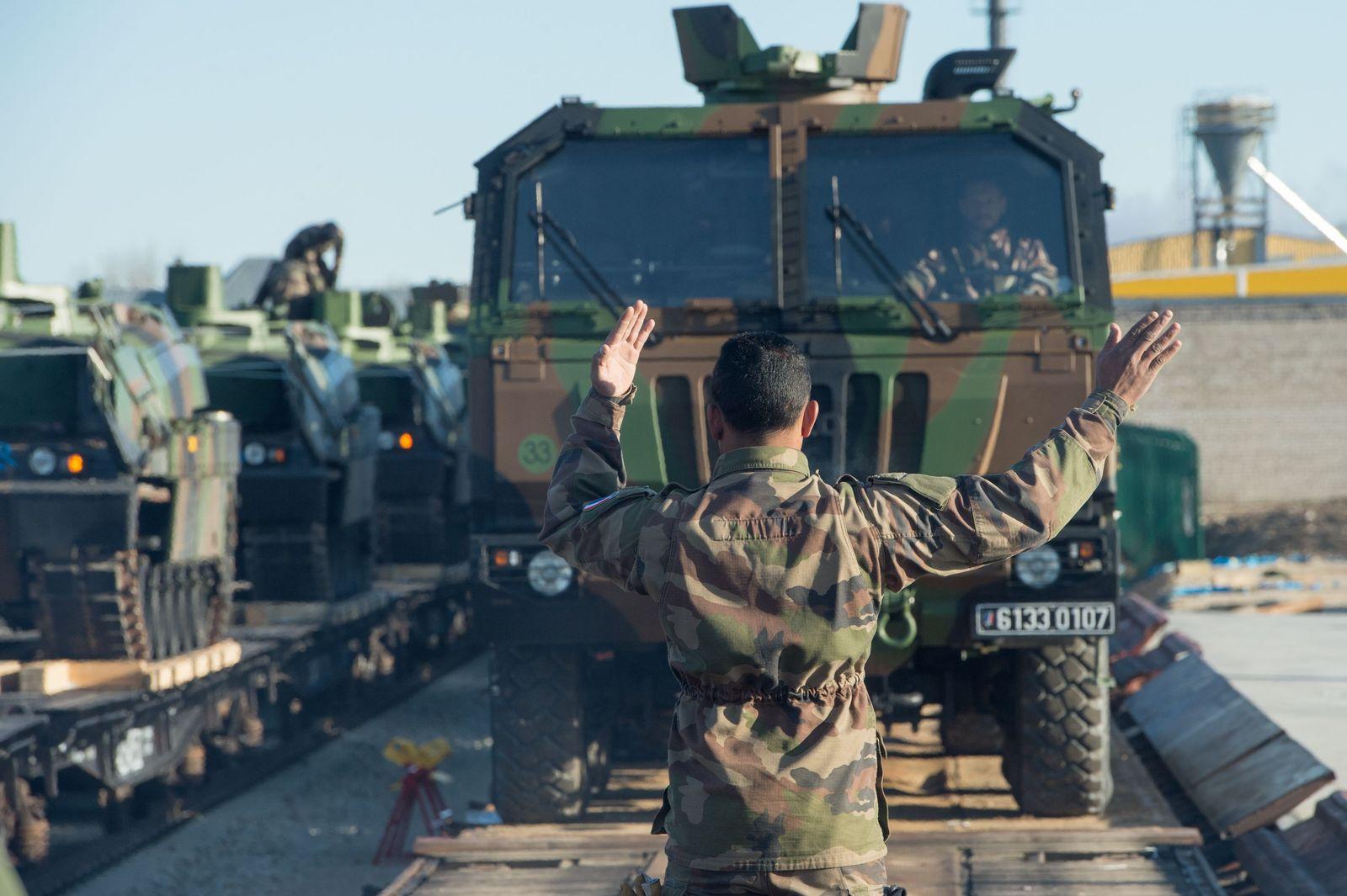 NATO Truppenverlegung 2017