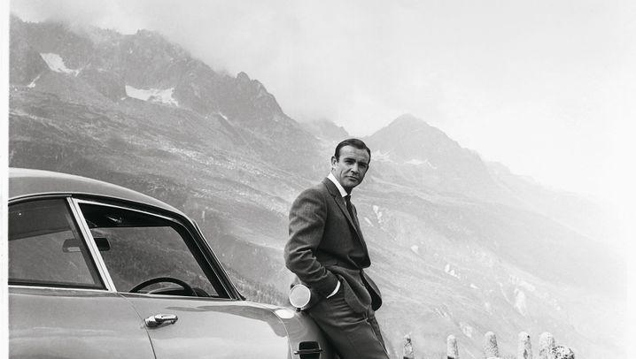 Aston Martin DB5: James Bonds liebster Dienstwagen