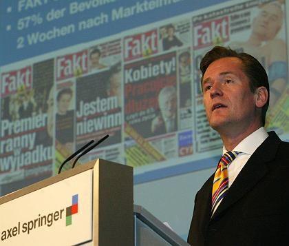 Springer-Chef Döpfner: Blick geht nun ins Ausland