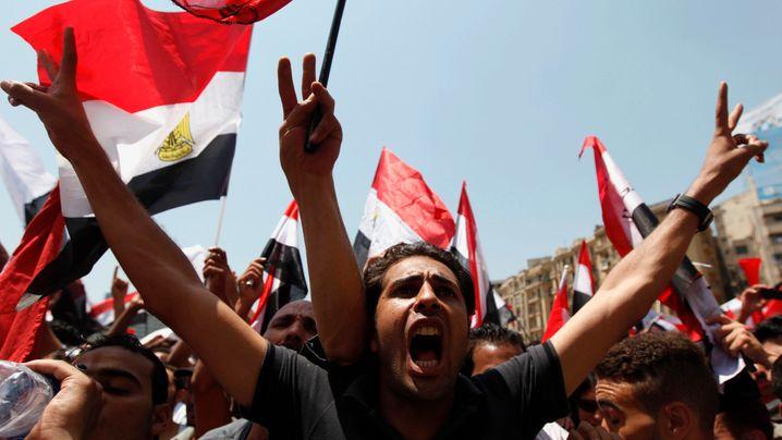 Massenproteste in Ägypten: Demonstrieren für und gegen Mursi