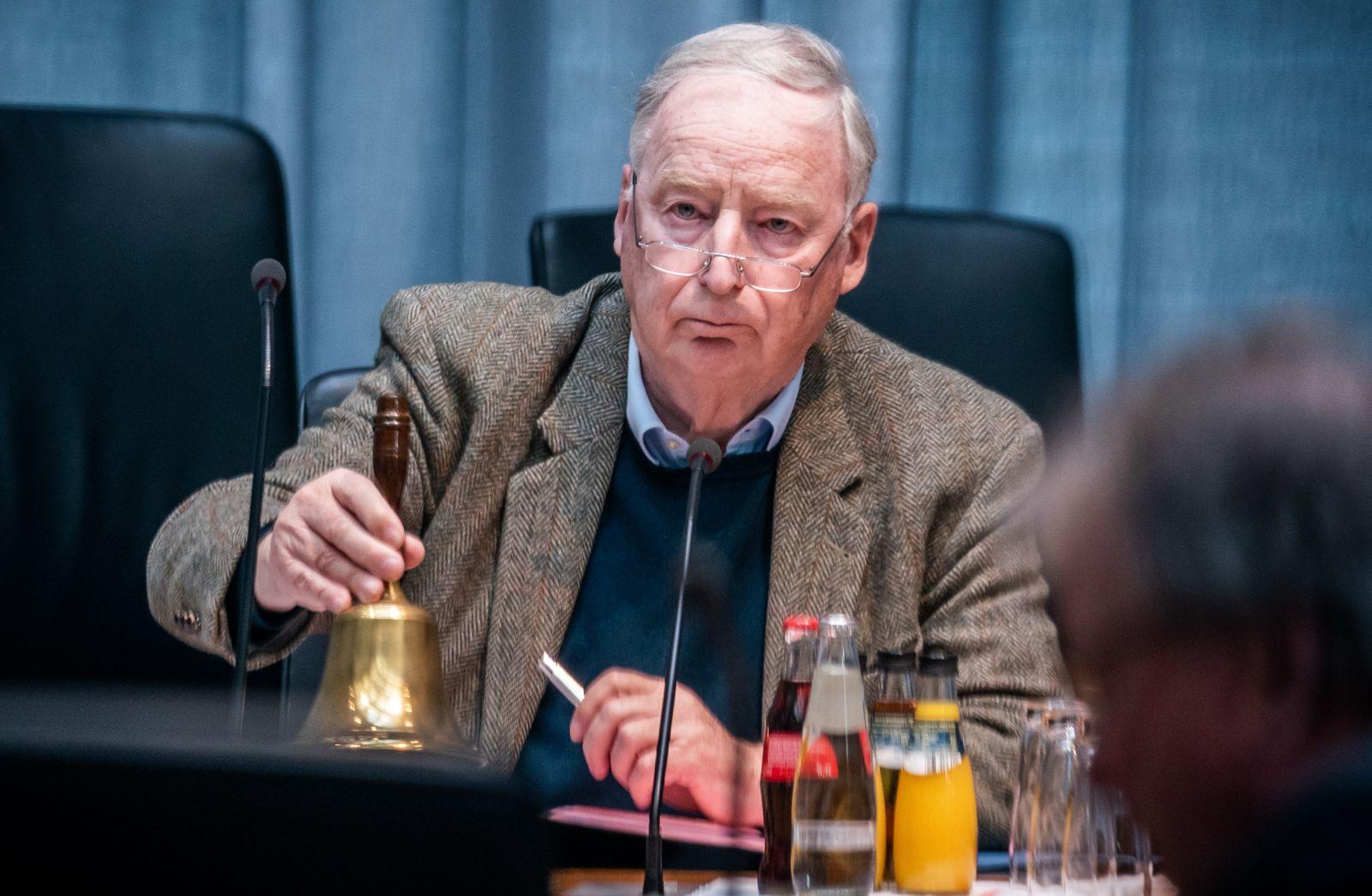 Sondersitzung AfD-Bundestagsfraktion