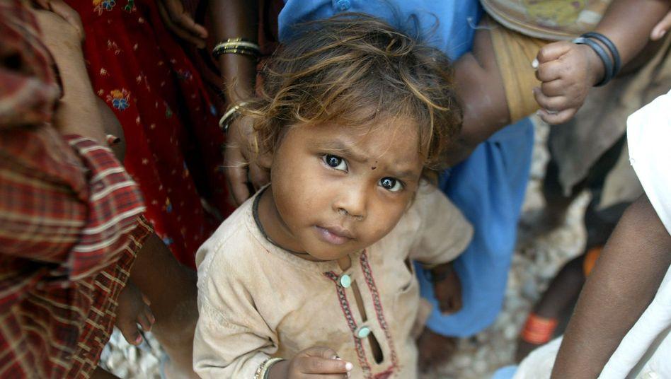 Mädchen in Indien: Mangelernährung bleibt Todesursache Nummer eins für Kinder in Entwicklungsländern
