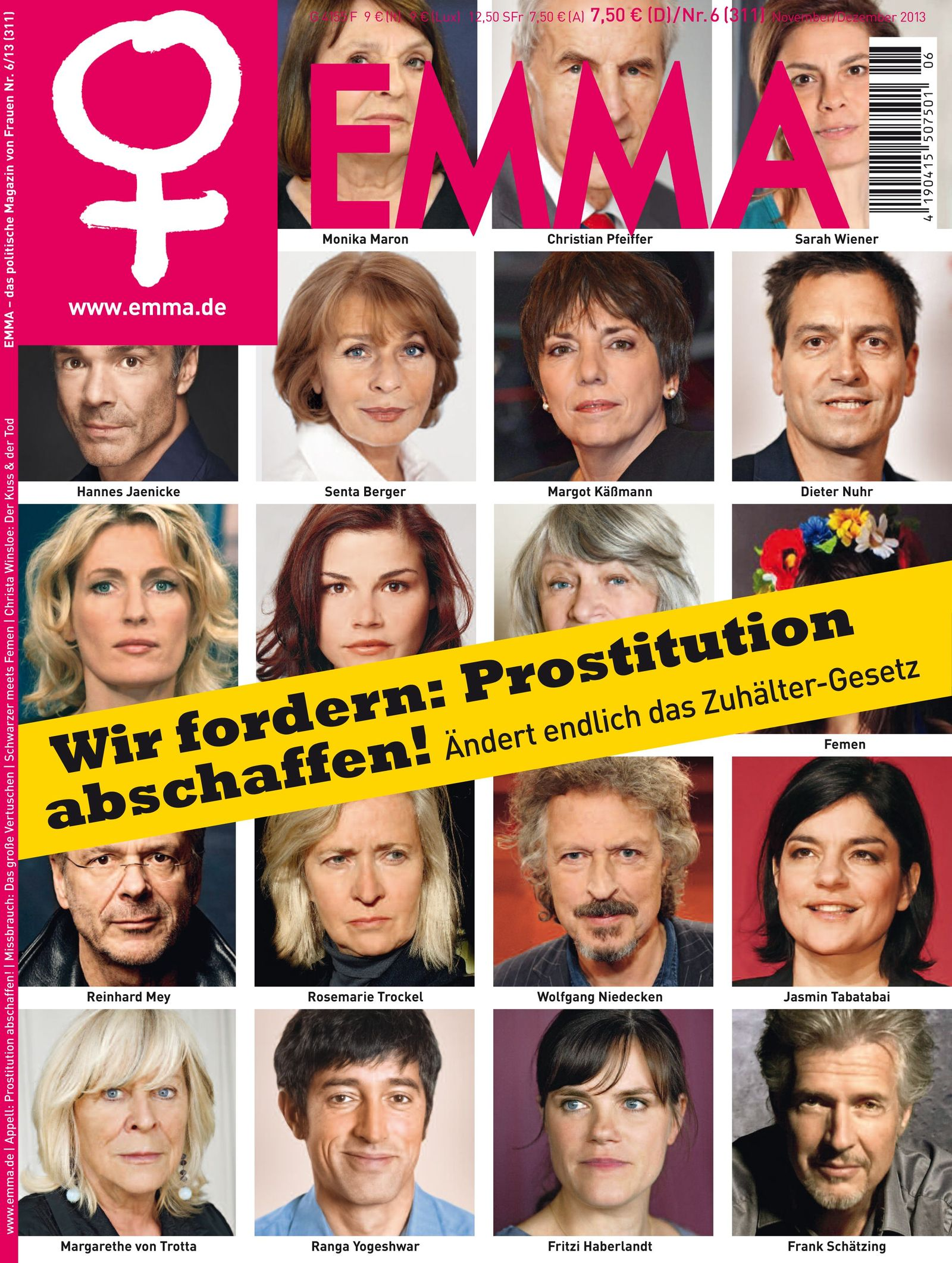 EMMA Cover/ Prostitution