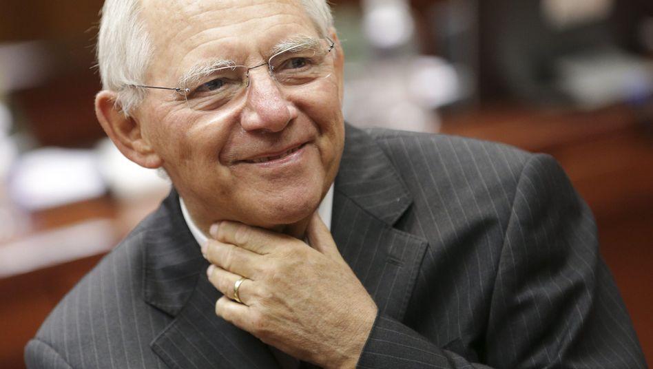 Finanzminister Schäuble: Glaubwürdigkeit durch eisernes Sparen