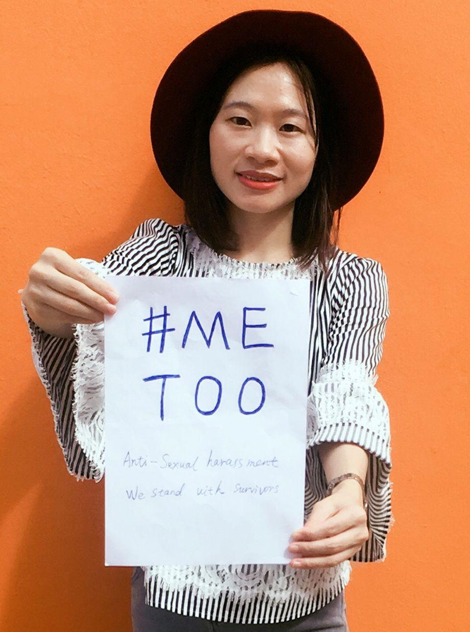 Die chinesische #MeToo-Aktivistin Huang Xueqin