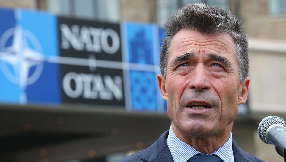 Nato: Rasmussenwirft Russland Angriff auf Ukraine vor