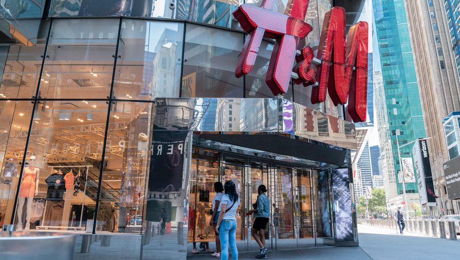 H&M-Filiale in New York: Liquidität nicht gefährdet