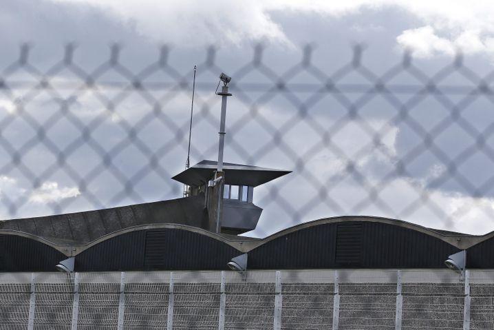 Haftanstalt südlich von Paris, in der Salah Abdeslam einsitzt