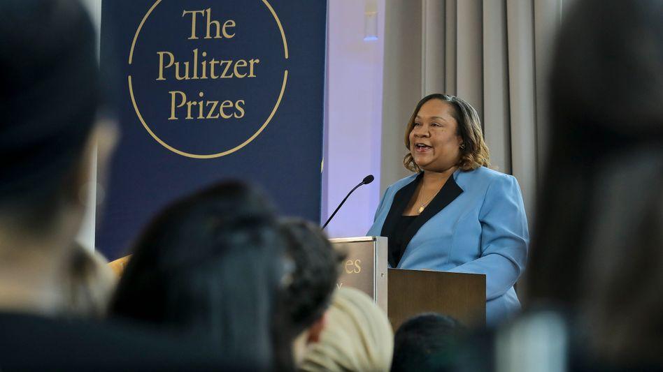 Dana Canedy, die Leiterin des Pulitzerpreis-Komitees